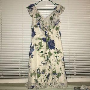 Dkny Dresses - DKNY Floral Midi Dress